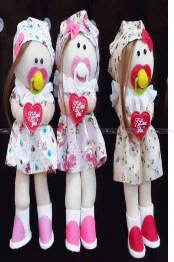 پک سه عددی عروسک روسی پستونک دار-تصویر اصلی