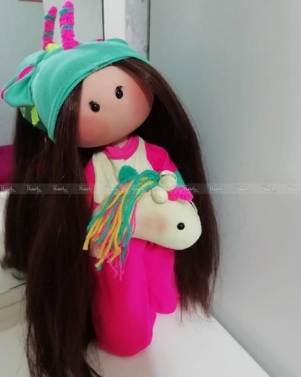 عروسک روسی مدل تک شاخ سایز بزرگ-تصویر اصلی