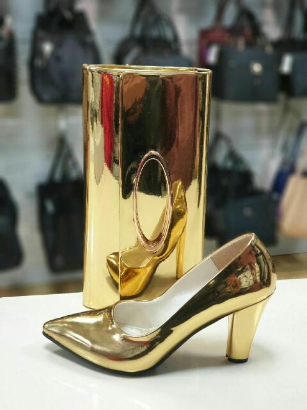 ست کیف و کفش مجلسی کد428-تصویر اصلی