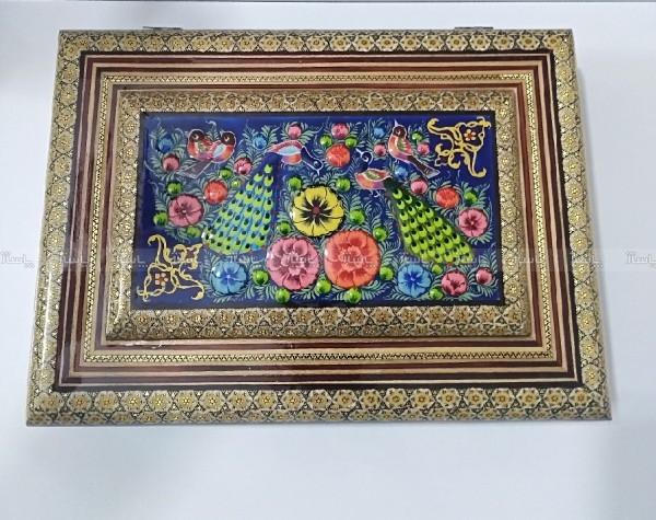 جعبه دیوان حافظ خاتم کاری-تصویر اصلی
