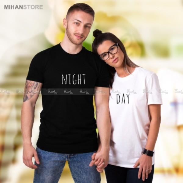 ست تی شرت مردانه و زنانه Night-Day-تصویر اصلی