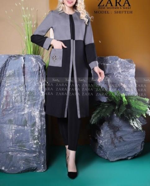 مانتو مدل شیفته-تصویر اصلی