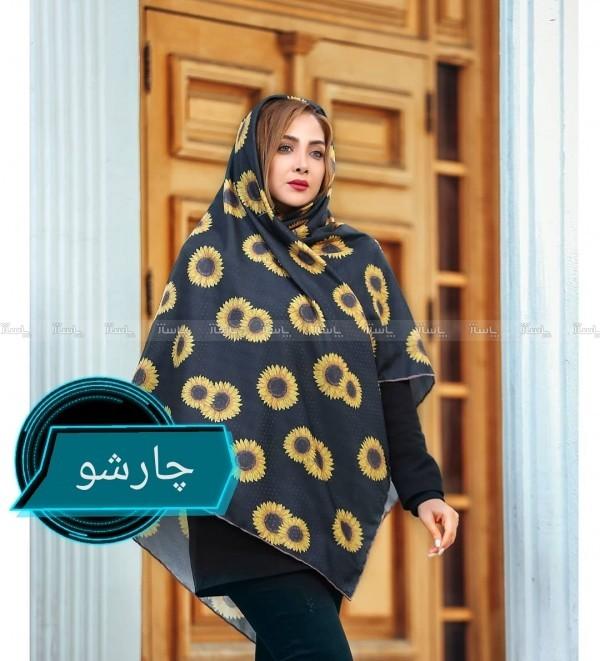 روسری نخی دور دست دوز برند cici-تصویر اصلی