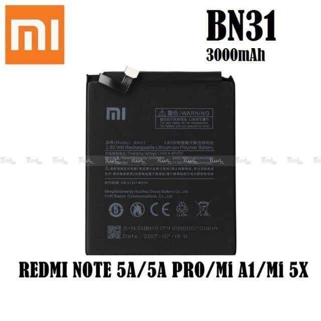 باتری اورجینال شیائومی xiaomi mi A1/ mi 5x مدل bn31-تصویر اصلی