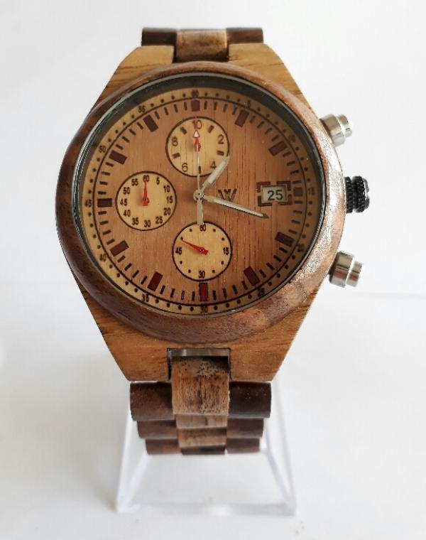 ساعت مچی چوبی مردانه-تصویر اصلی
