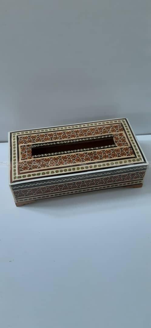 جعبه جا دستمال کاغذی خاتم-تصویر اصلی