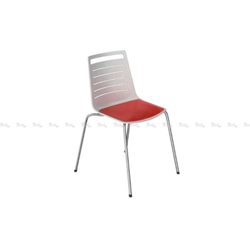 صندلی رستورانی پایه فلزی کوره ای مدل ناتالی استیل هامون-تصویر اصلی