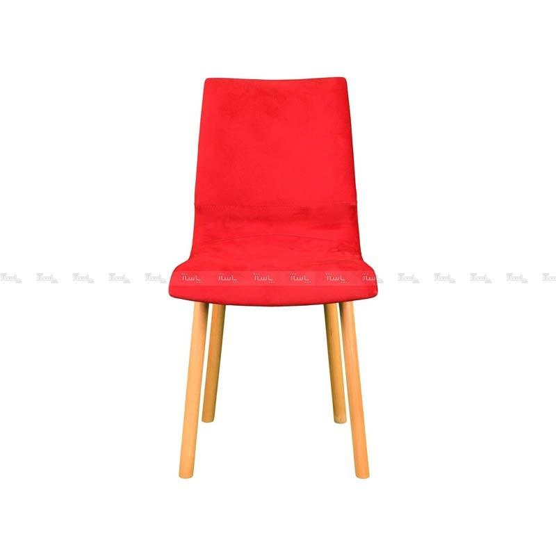 صندلی رستورانی پایه چوبی ساده مدل رونی استیل هامون-تصویر اصلی
