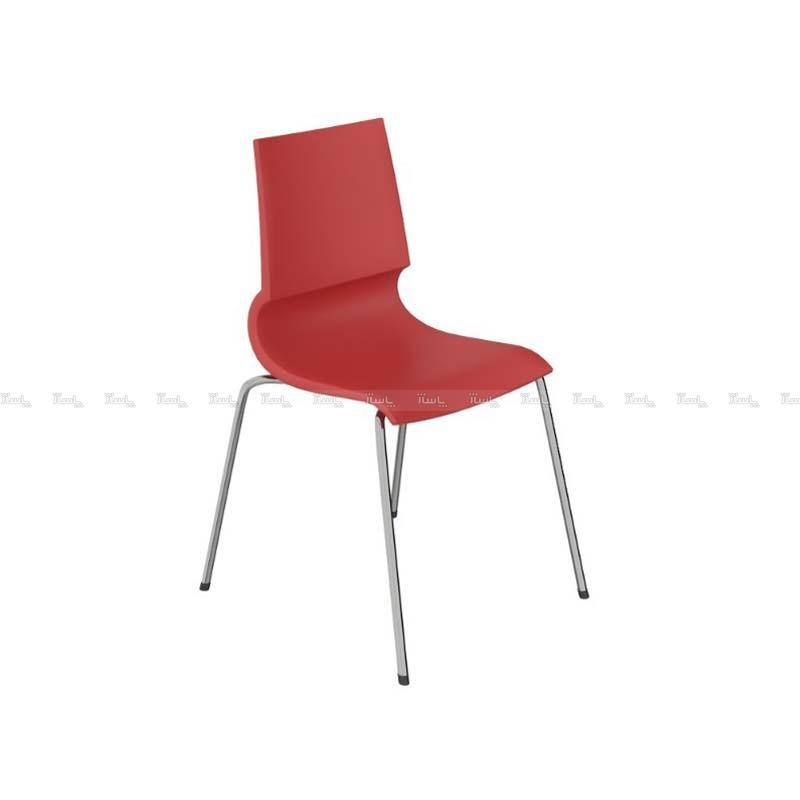 صندلی رستورانی پایه فلزی کوره ای مدل رونی استیل هامون-تصویر اصلی