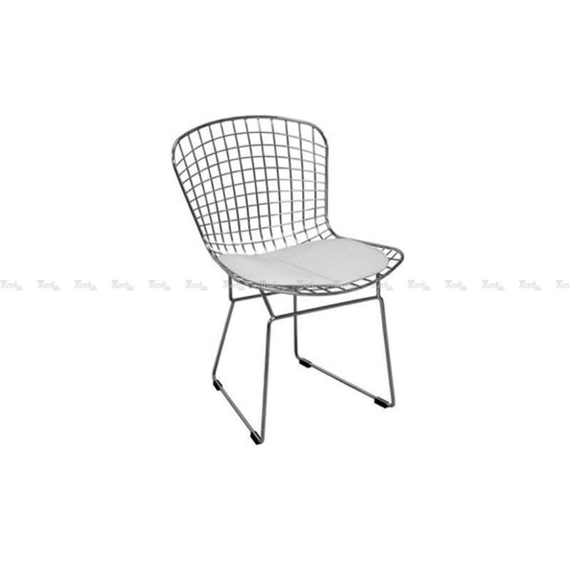 صندلی رستورانی توری فلزی کروم مدل پارمیدا استیل هامون-تصویر اصلی