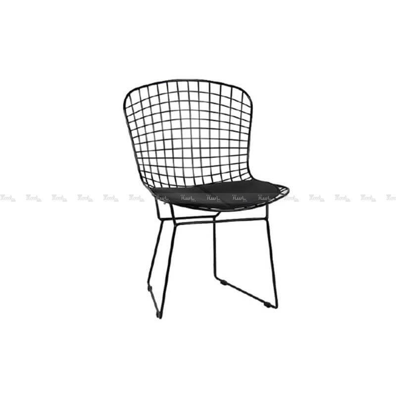 صندلی رستورانی توری فلزی کوره ای مدل پارمیدا استیل هامون-تصویر اصلی