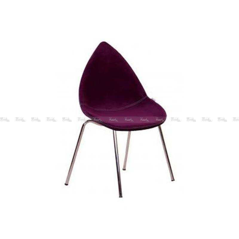 صندلی رستورانی پایه فلزی مدل دیبا استیل هامون-تصویر اصلی