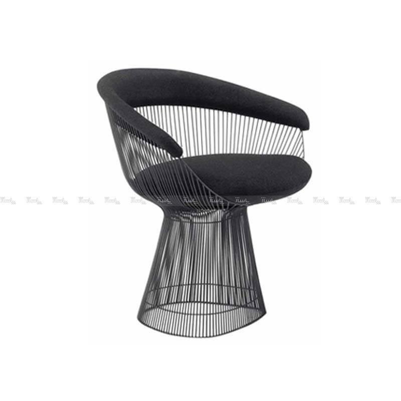 صندلی رستورانی پوشش کوره ای مدل رایکا استیل هامون-تصویر اصلی