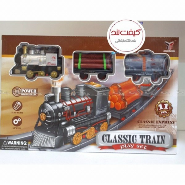 اسباب بازی قطار به همراه ریل-تصویر اصلی