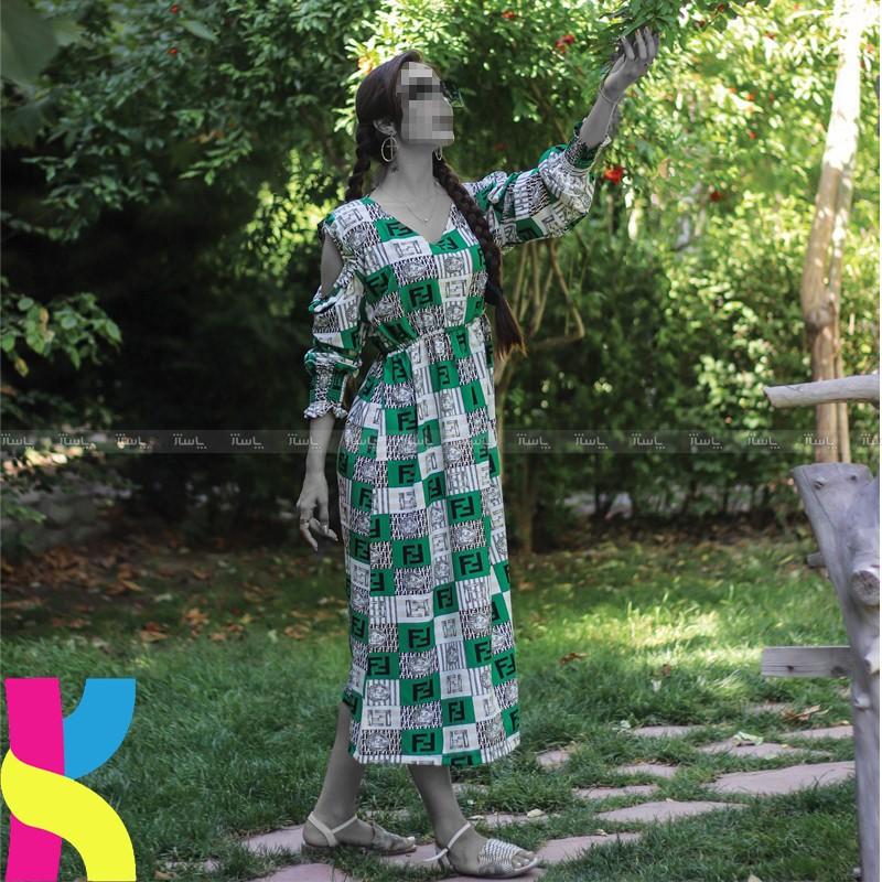 پیراهن تابستانه SHINY کد : 151-تصویر اصلی