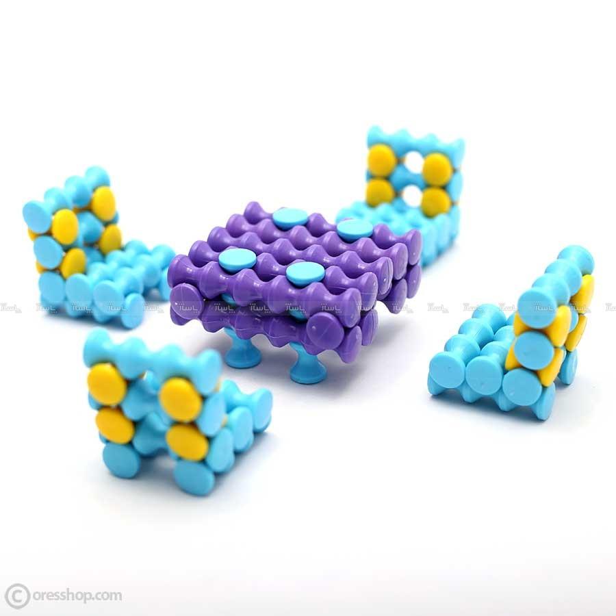 مگامیل میز و صندلی | اسباب بازی ساختنی-تصویر اصلی