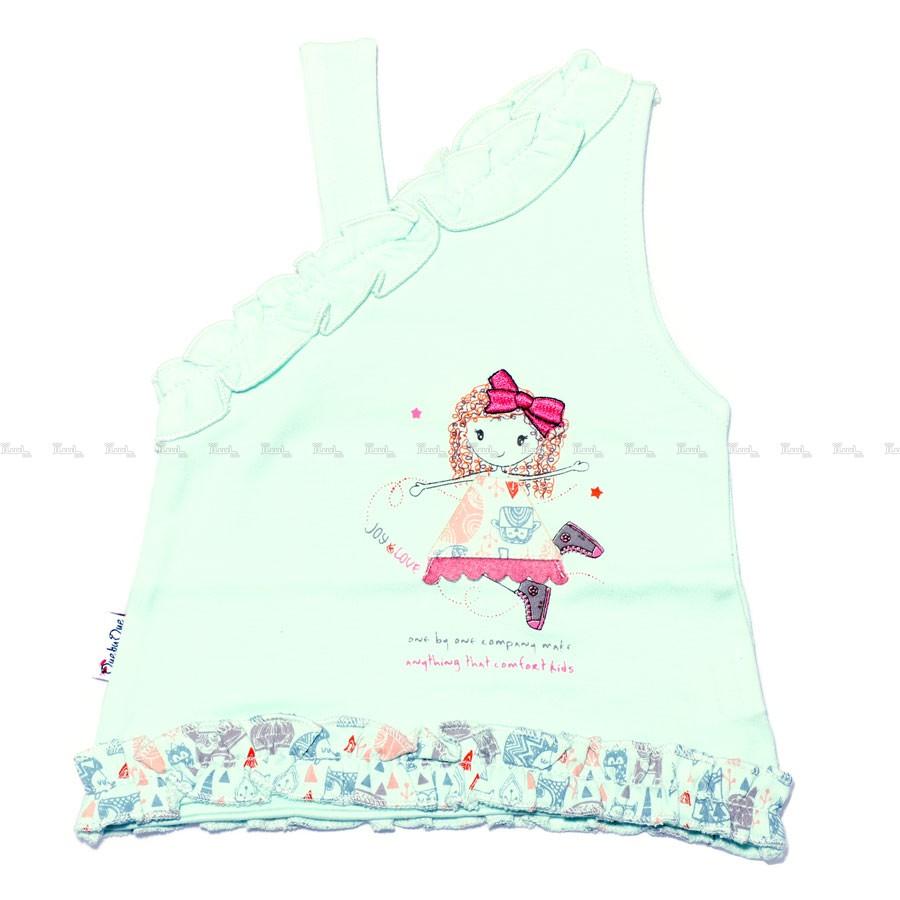 تاپ دخترانه طرح عروسکی-تصویر اصلی
