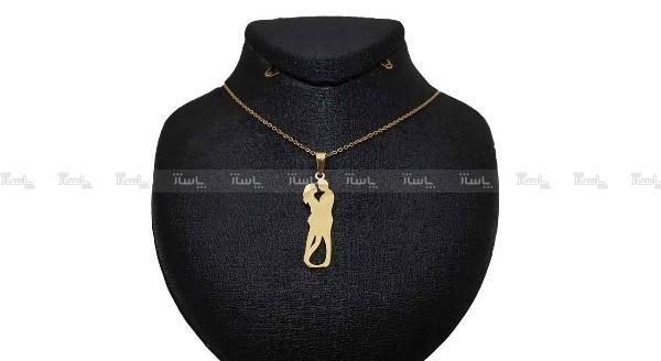 گردنبند نقره طرح عشق-تصویر اصلی