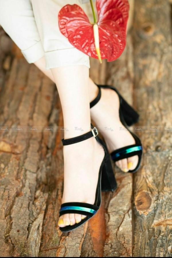 کفش پاشنه دار رویه هولوگرام-تصویر اصلی
