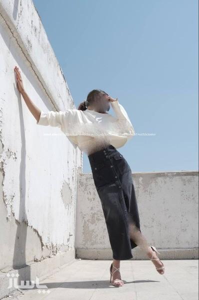 دامن جین(پارچه کیپاش ترک)-تصویر اصلی