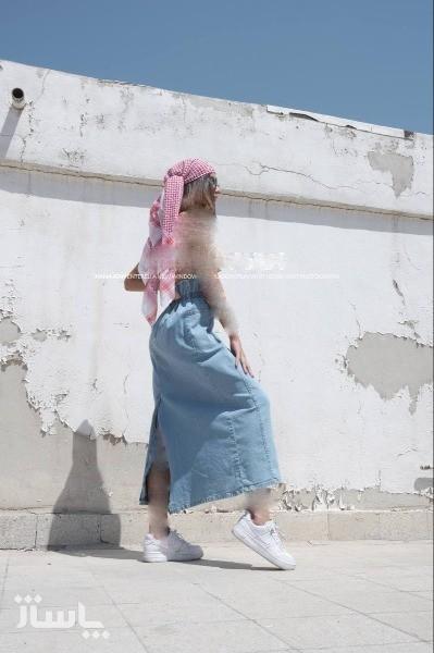 دامن جین کیپاش ترک-تصویر اصلی