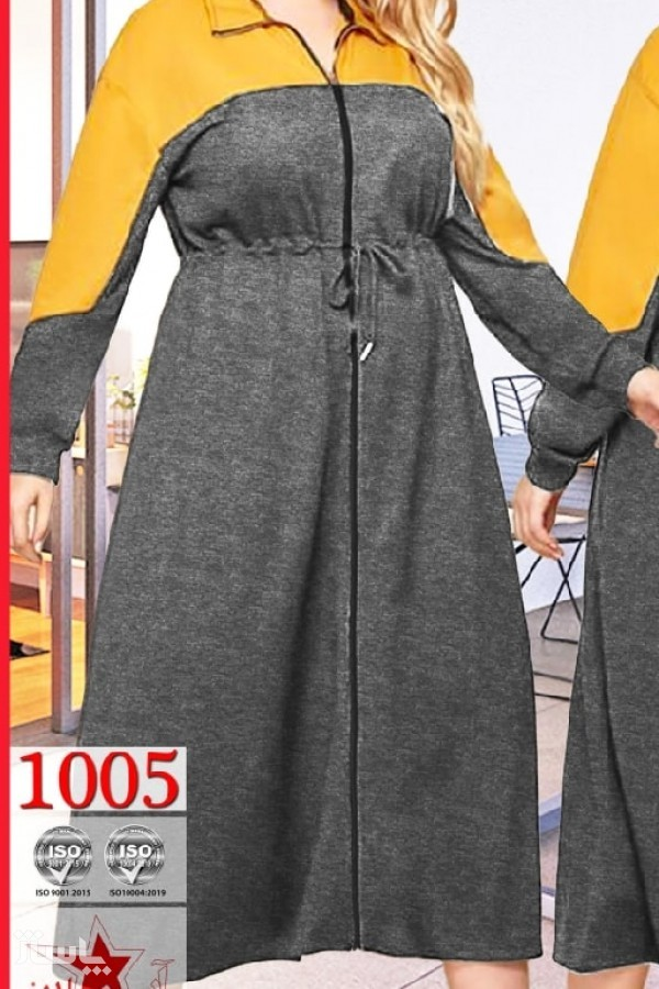 سوییشرت مانتویی سایز بزرگ-تصویر اصلی