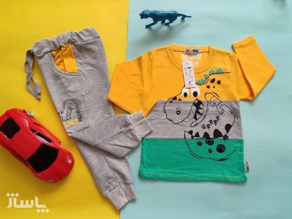 بلوزشلوار سرانه ست بلوزشلوار پسرانه لباس بچگانه-تصویر اصلی