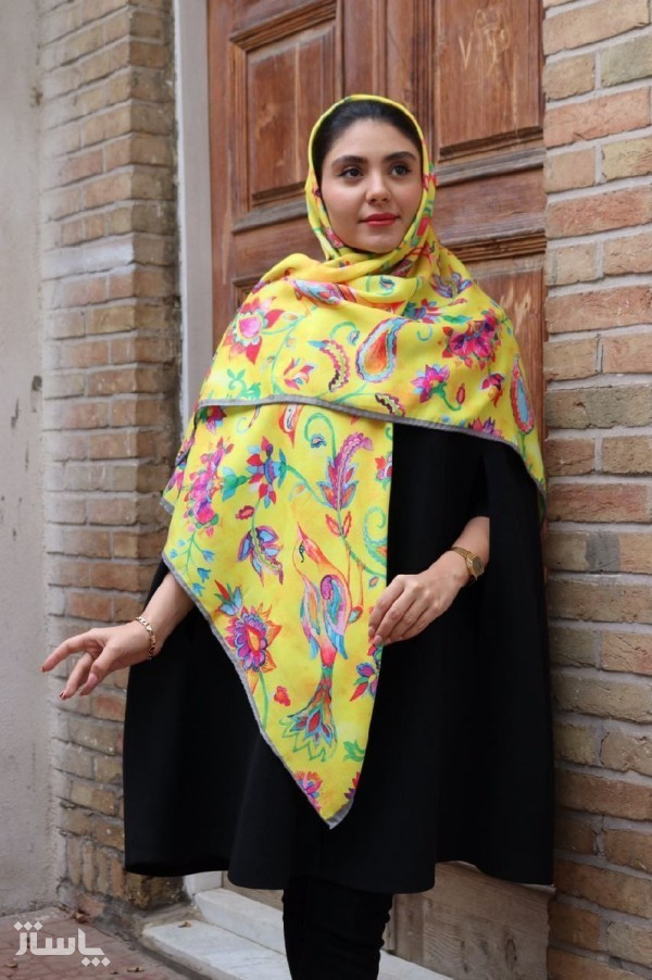 روسری نخی نگینی-تصویر اصلی