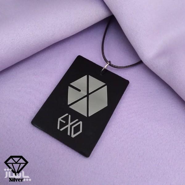 گردنبند طرح EXO-تصویر اصلی