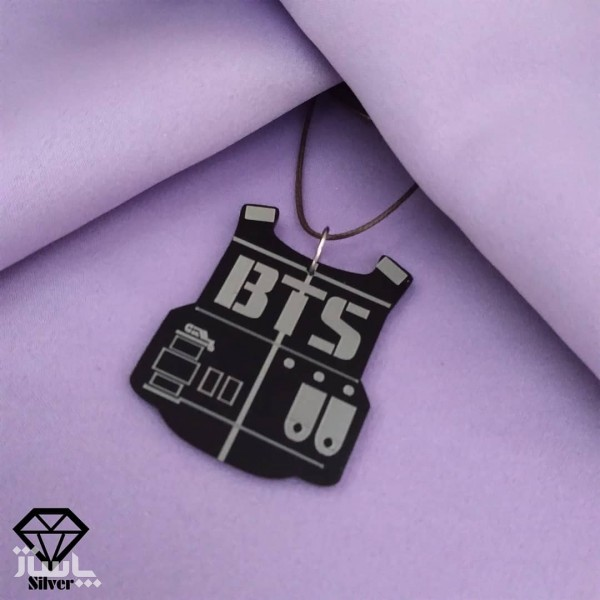 گردنبند طرح BTS-تصویر اصلی
