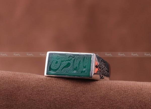 انگشتر عقیق سبز-تصویر اصلی