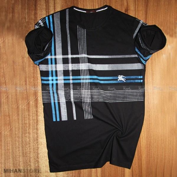 تی شرت مردانه Burberry طرح Stripe-تصویر اصلی