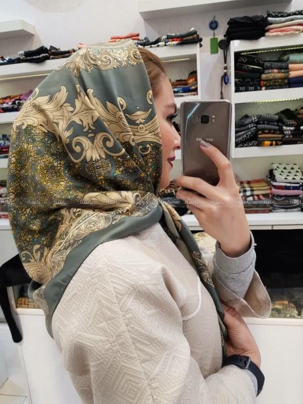 روسری ساتن-تصویر اصلی