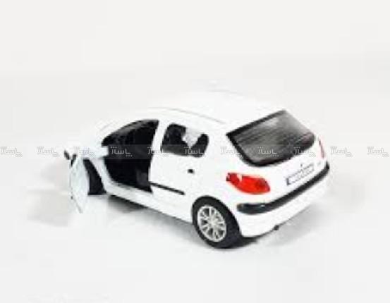 ماشین فلزی 206 ماکت اسباب بازی-تصویر اصلی