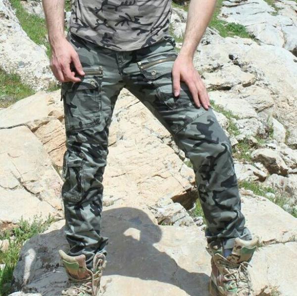 شلوار مردانه زنانه طرح ارتشی چریکی یا آرمی-تصویر اصلی