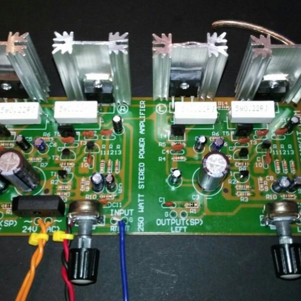 سوپر آمپلیفایر قدرت ۲۵۰ وات استریو-تصویر اصلی