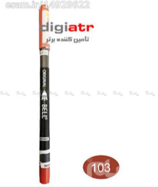مداد خط لب بادوام و ضد آب 103 Bell Lip Liner-تصویر اصلی