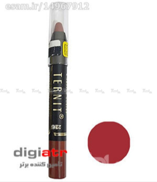 رژ لب مدادی Ternit Water Proof Lipstick 236-تصویر اصلی