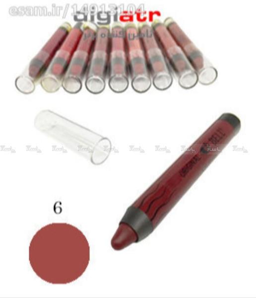 رژ لب مدادی بادوام و ضد آب Bell No.6-تصویر اصلی