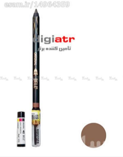 مداد ابرو مخملی Bell Eyebrow Pencil Tattoo 103-تصویر اصلی