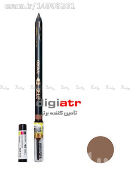 مداد ابرو مخملی Bell Eyebrow Pencil Tattoo 105-تصویر اصلی