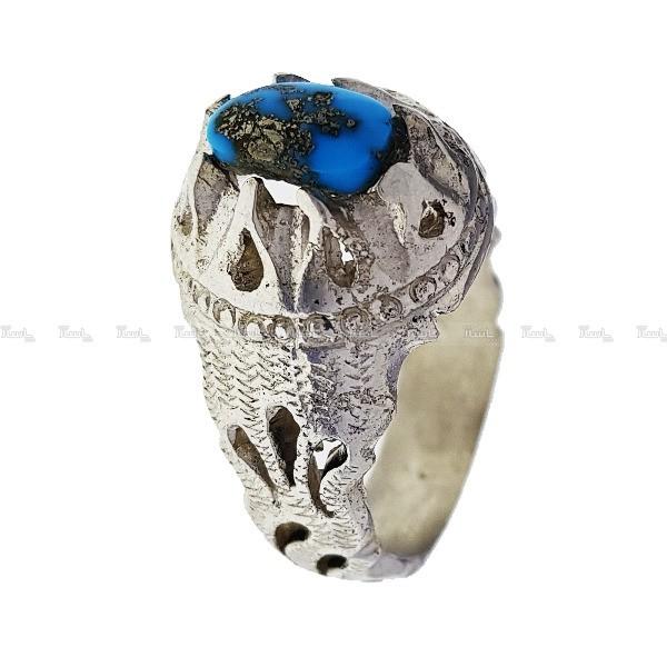 انگشتر نقره فیروزه نیشابور-تصویر اصلی
