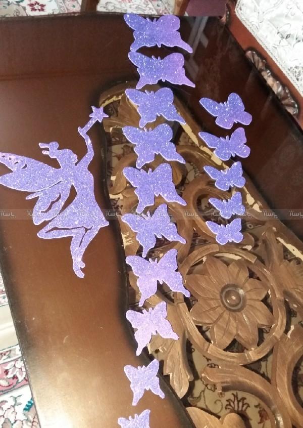 استیکر پروانه و فرشته-تصویر اصلی