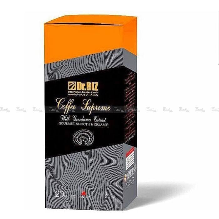 قهوه فوری دکتر بیز مدل کافه سوپریم به همراه عصاره قارچ گانودرما ۴۰۰ گرمی-تصویر اصلی