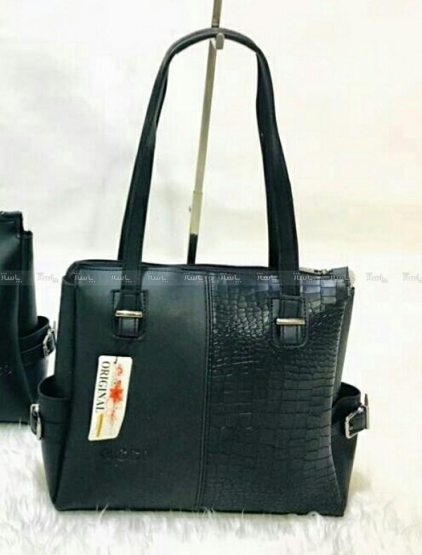 کیف زنانه دو دسته مدل سنگی-تصویر اصلی