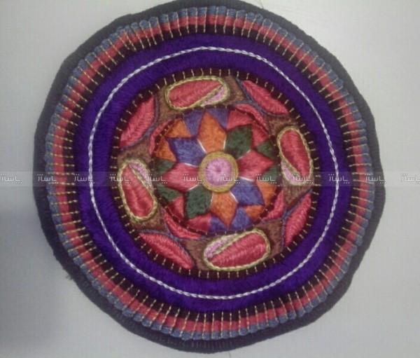 رومیزی و زیربشقابی ابریشم-تصویر اصلی