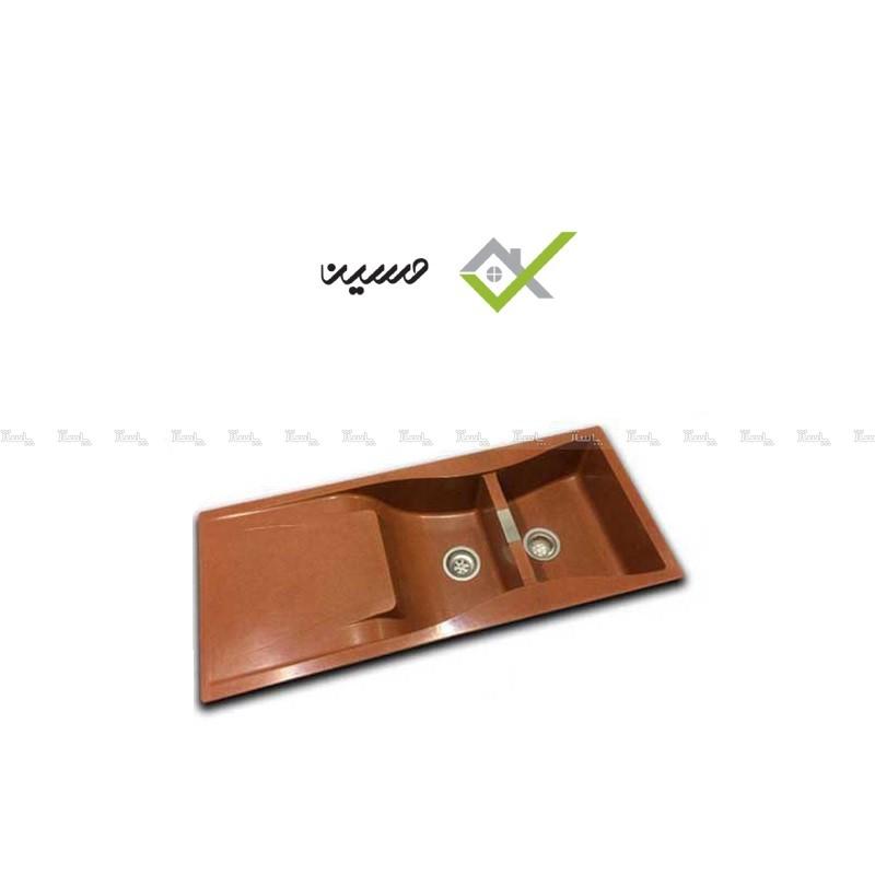 سینک گرانیکو مدل G810 قهوه ای-تصویر اصلی