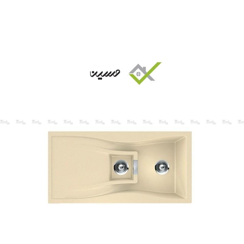 سینک گرانیکو کد G410 کرم-تصویر اصلی