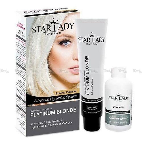 کرم بی رنگ کننده استارلیدی مدل Platinum Blonde-تصویر اصلی