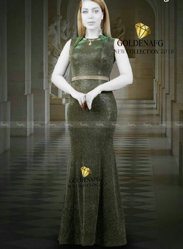 لباس مجلسی لمه شنی-تصویر اصلی